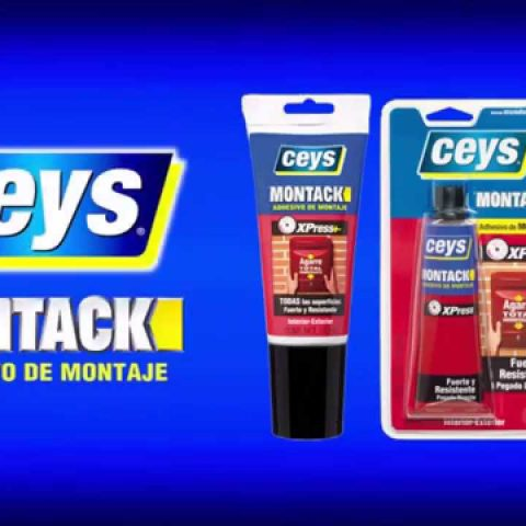 Adhesivo de Montaje Ceys Montack Express